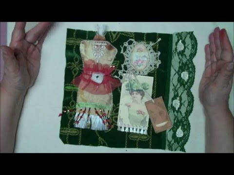 Textile Collage Swaps!