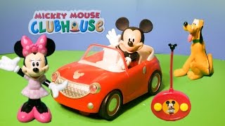 MICKEY MOUSE CLUBHOUSE  Remote Control Car Toys Video