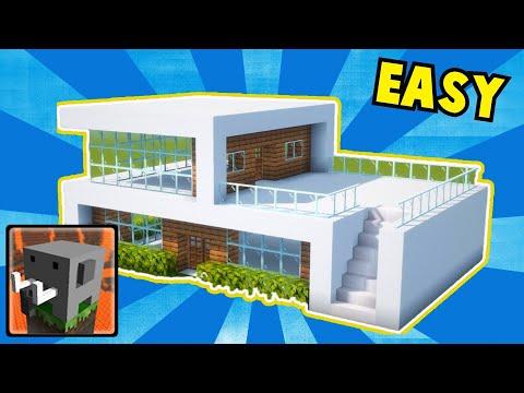 Craftsman : How To Build HUGE MODERN HOUSE (NICE LOOKING)