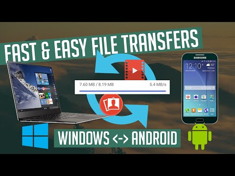 Transfer Videos and Photos over WIFI from PC to Android - Fast & Easy 2019