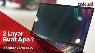 Hands on dua layar di Asus Zenbook Pro Duo memang beda