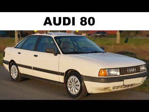 """Актульна ли Audi 80 """"бочка"""""""