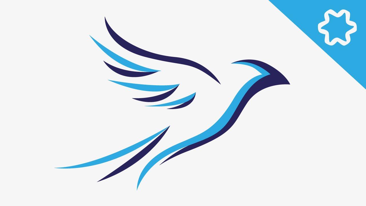 adobe illustrator   animal logo design tutorial   bird dover clip art free dove clipart free 3d small
