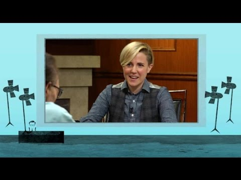 Hannah Hart on Ingrid Nilsen, 'Electra Woman and Dyna Girl,' and Having Larry on 'My Drunk Kitchen'
