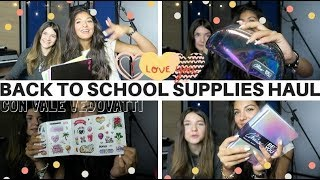 BACK TO SCHOOL SUPPLIES HAUL | EM