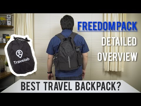 The Best Anti-theft Travel Backpack 2017? - Freedom Pack by Travelab | Detailed Overview