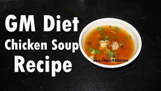 Chicken Soup for Weight Loss | High in Proteins | Lose Weight w/o Exercise