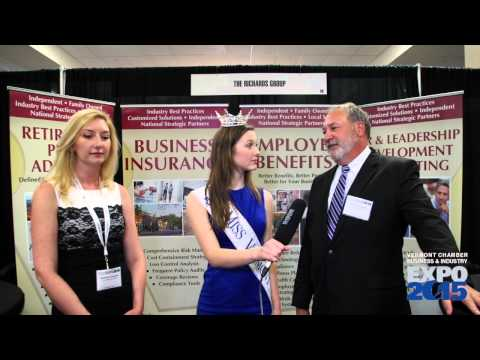 Miss Vermont at the Vermont Business & Industry Expo - The Richards Group
