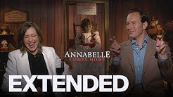 Vera Farmiga, Patrick Wilson Talk 'Annabelle Comes Home'