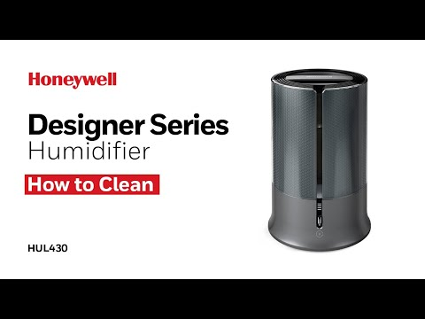 Honeywell Designer Series Cool Mist Humidifier HUL430 - How To Clean