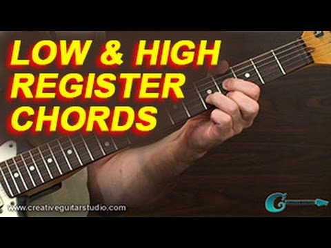 RHYTHM GUITAR: Upper & Lower Register Chords