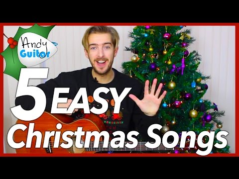 Play 5 EASY Christmas Songs on Guitar