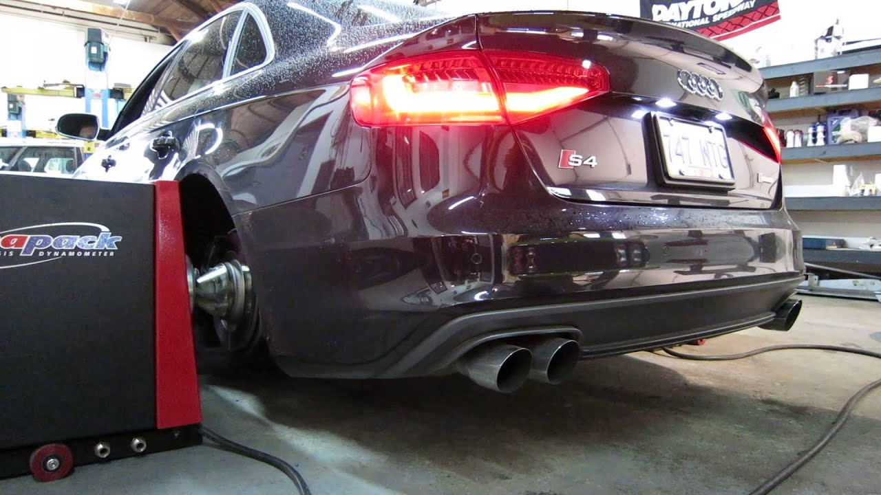 2013 audi s4 dyno run with awe exhaust res dps youtube publicscrutiny Gallery