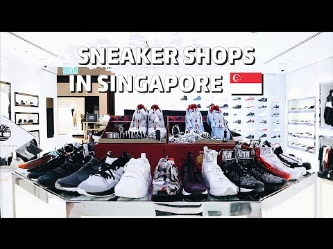 Sneaker Shops in Singapore Bahasa Indonesia (English Subs)