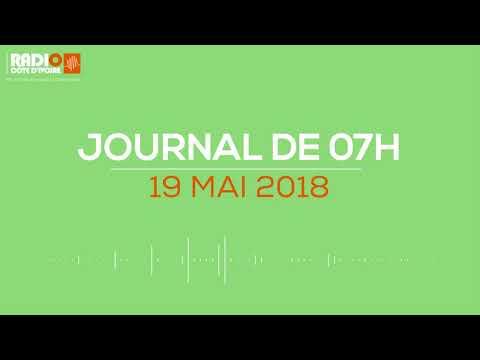 Le journal de 07H00 du 19 avril 2018 - Radio Côte d'Ivoire