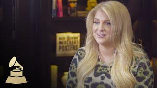 Meghan Trainor | Nomination Interview | 58th GRAMMYs
