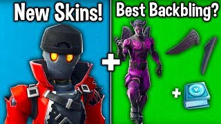 NEW Skins Leaked! FALLEN LOVE RANGER + NEW BEST BACKBLING! (Fortnite New Update)