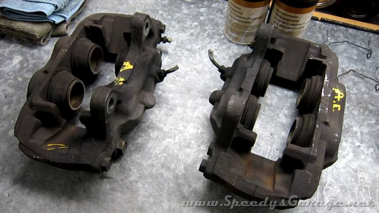 How To Rebuild Brake Calipers 3rd Gen 4runner 13wl Youtube