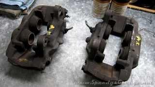 How To Rebuild Brake Calipers 3rd Gen 4Runner 13WL