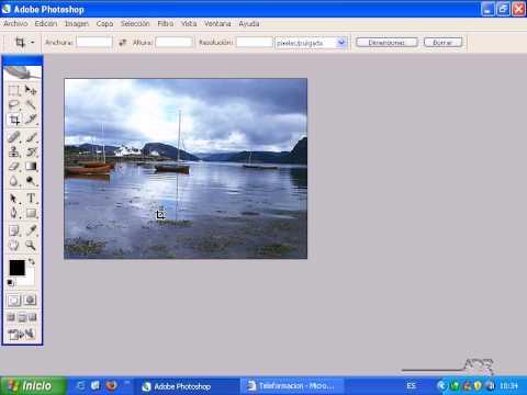 Enderezar Una Imagen Con Photoshop