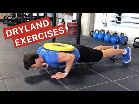Dryland Exercises For Swimmers (Strength Training)