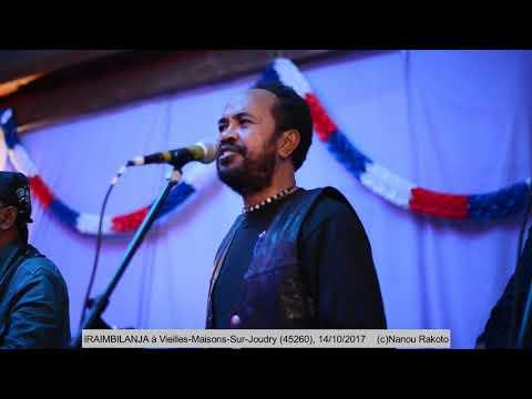"""IRAIMBILANJA concert au Restaurant de l'Etang Des Bois"""" 14 octobre 2017"""