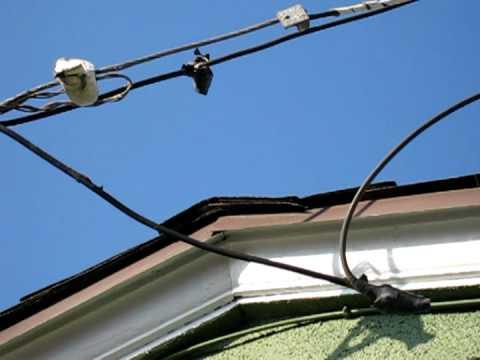 Overhead electrical danger