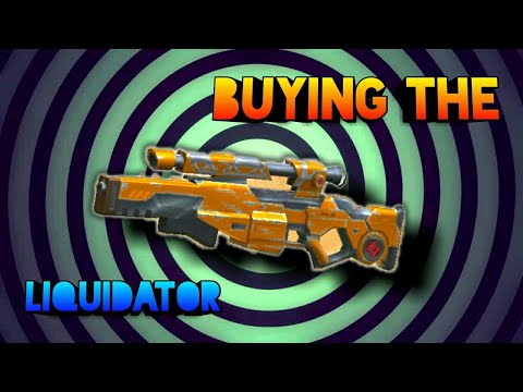 Buying the end game Sniper | The liquidator || Guns of boom