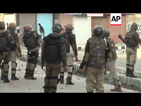 Indian army firing kills 1 in Indian controlled Kashmir