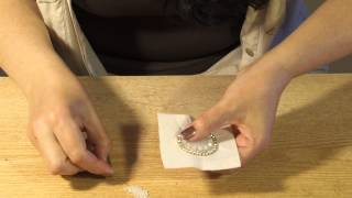Вышивка кабошона - урок 2