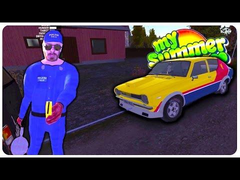 Custom Hood + Mad Max Paint Mods - My Summer Car Gameplay