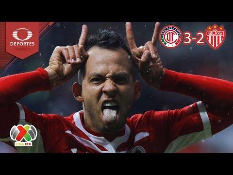 Los Diablos sorprenden a los Rayos | Toluca 3 - 2 Necaxa | Apertura 2018 - J10 | Televisa Deportes