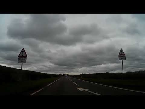Spring Drive From Crieff To Huntingtower Castle By City Of Perth Perthshire Scotland