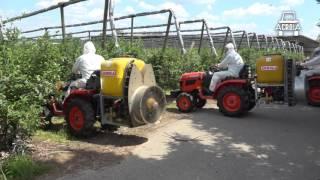 Agrola w Gospodarstwie Ogrodniczym Państwa Wilczewskich (Blueberry spraying)