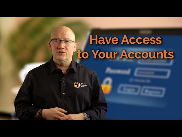 30 Sec. Thoughts: Have Access to Your Accounts