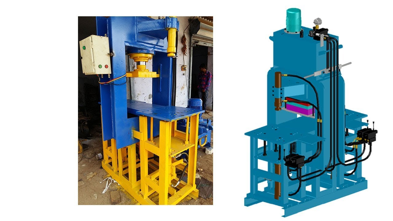 Manual Hydraulic Paver Block Making Machine
