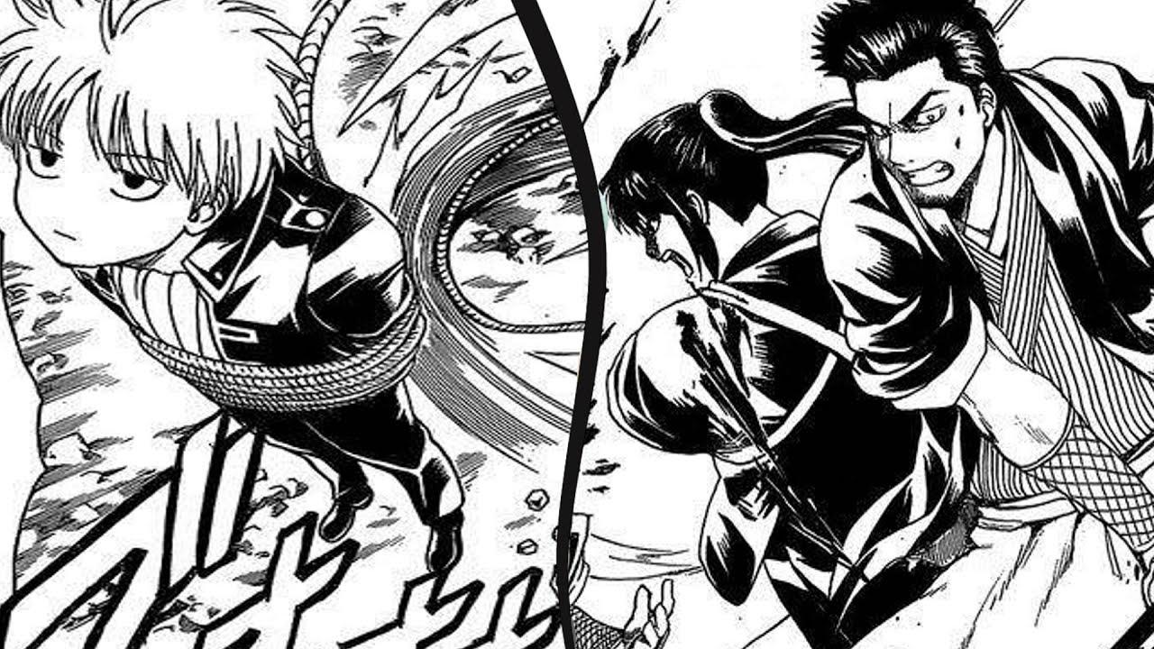 E A  E Ad  Gintama Manga Chapter   E A  E Ad  Review Noble Wolves