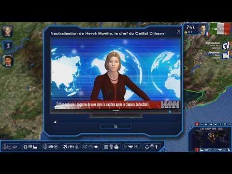 LA FRANCE EN ALERTE ROUGE !!!!!! (Geopolitical Simulator 4: Power & Revolution)