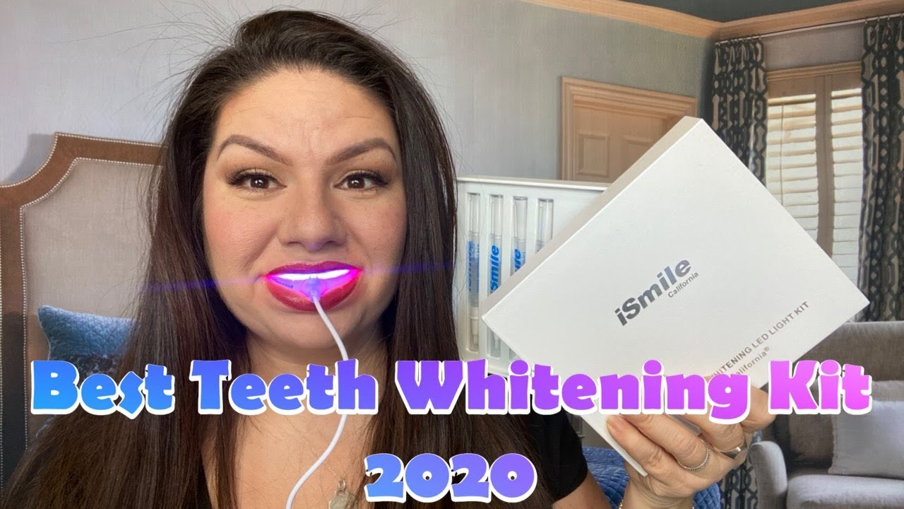 Best Home Teeth Whitening Kit On Amazon In 2020 Honest Review