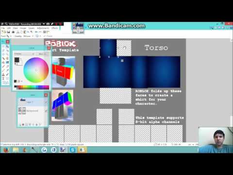 How To - Make a Shirt on ROBLOX 2016 READ DESCRIPTION - YouTube