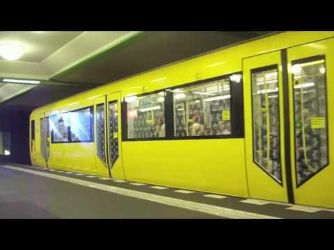 Die U Bahn von Berlin The Metro of Berlin 2009