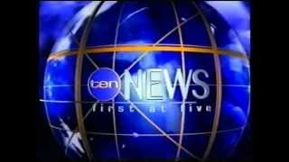 Repeat youtube video TVQ10 Ten 5pm News December 3, 2004