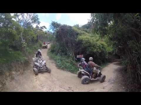ATV en Puerto Rico Fourtrack, Hacienda Finca Grande, Comerio P.R Pt 2 (Fango en Puerto Rico)