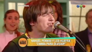 """""""Zamba para olvidar"""", Los Huayra y Nahuel Pennisi - La Peña de Morfi"""