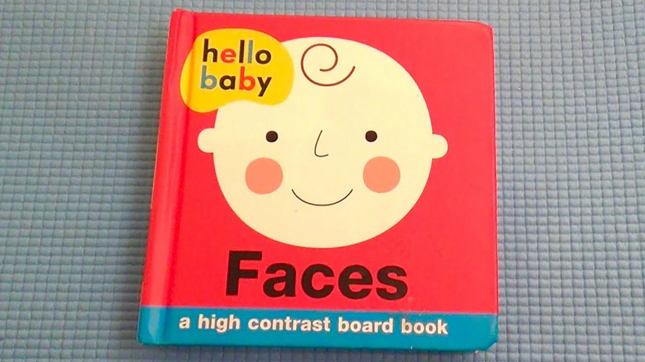 Hello Baby Faces Book First Words Fun Baby Fun Fun