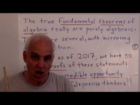 MathFoundations217: What is the Fundamental theorem of Algebra, really?