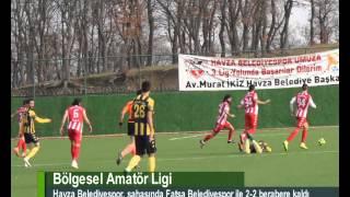 Havza Belediyespor: 2 - Fatsa Belediyespor: 2