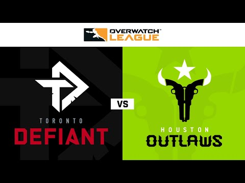 Houston Outlaws vs Toronto Defiant vod