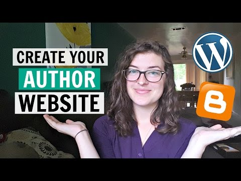 How to Create an Author Website (so you can start marketing yourself)