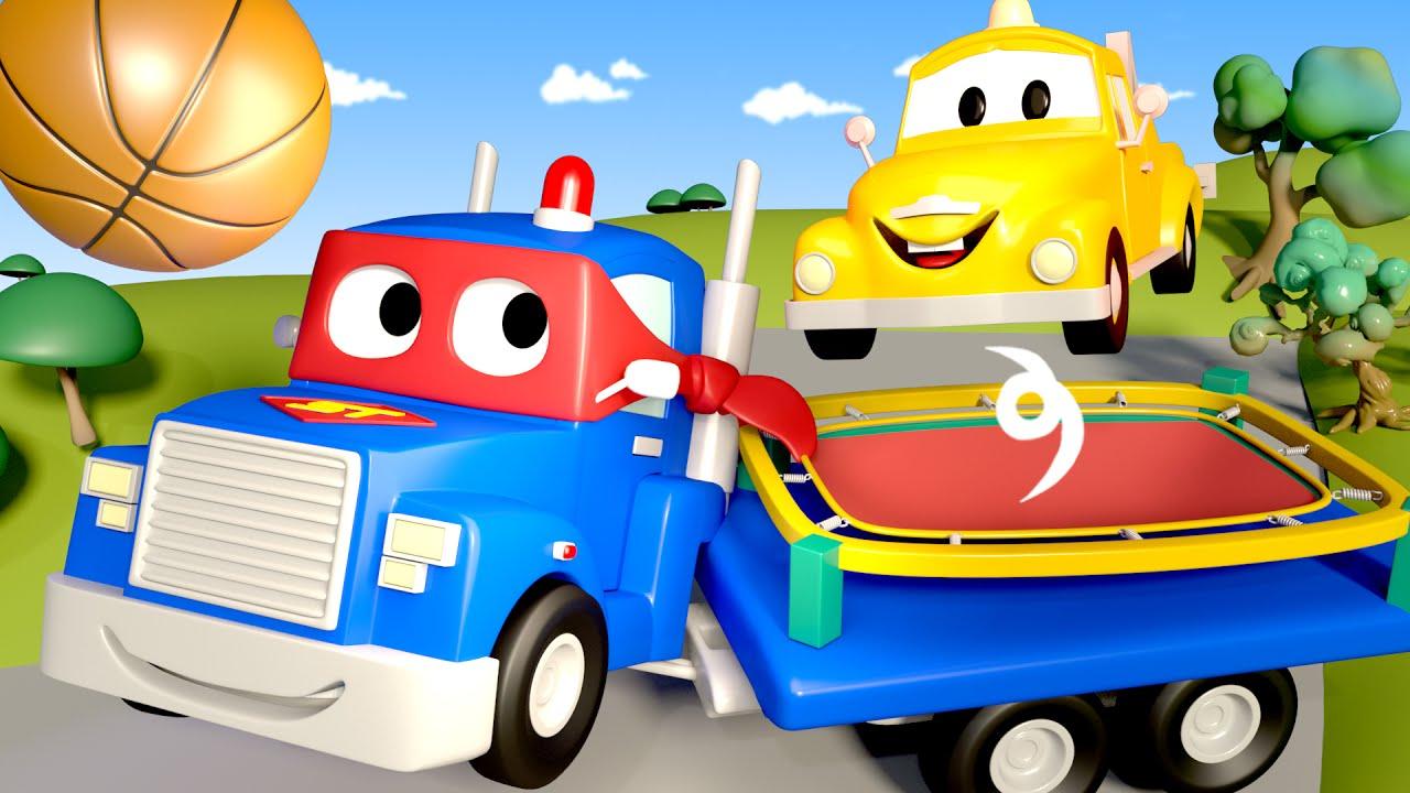 nhún nhảy Carl - Siêu xe tải Carl